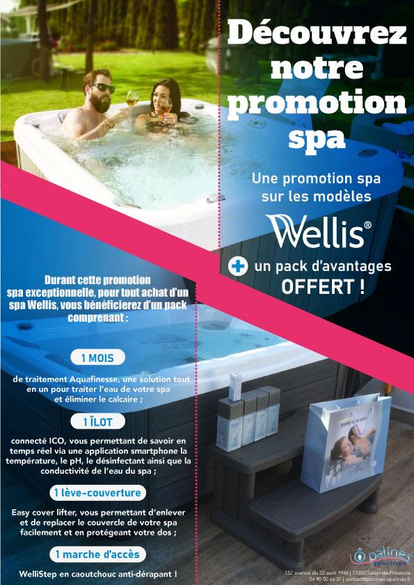 promotion spa Wellis Salon de Provence